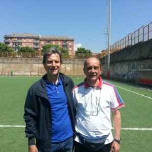 Mauro Meli e Gino Del Tevere
